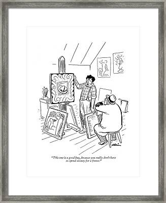 This One Is A Good Buy Framed Print
