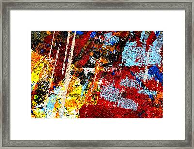 This Painting Has A Life Of Its Own IIi  Framed Print by John  Nolan