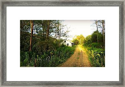This Place Framed Print by Kimberly Nicholas