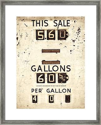 This Sale Framed Print