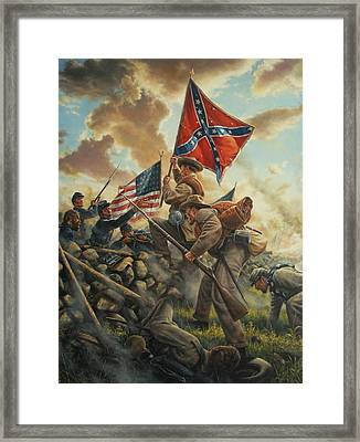 This Side Of The Lord Framed Print by Dan Nance