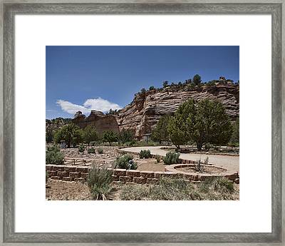 This Side Of The Rainbow Bridge Framed Print
