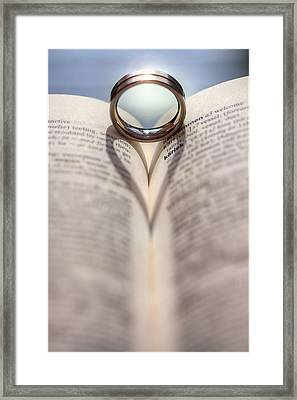This Thing Called Love Framed Print