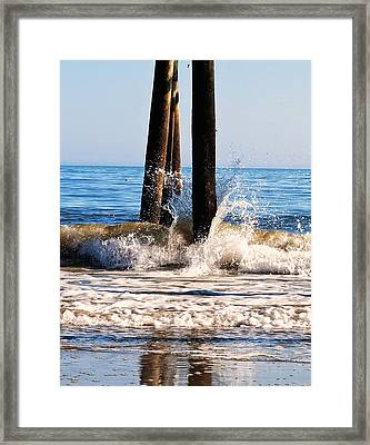 This Too Shall Pass Waves At Myrtle Beach Framed Print