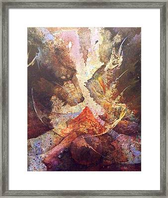 This Too Shall Rise Framed Print by Fred Wellner