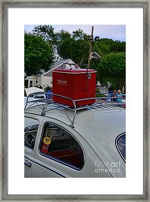 This Vw Is Road Ready Framed Print