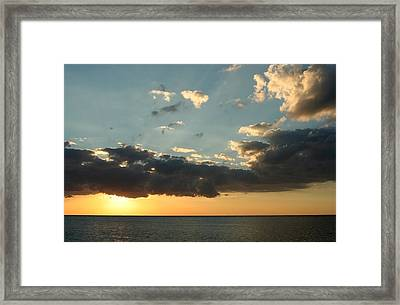 This Warm Evening Framed Print by Laurie Search