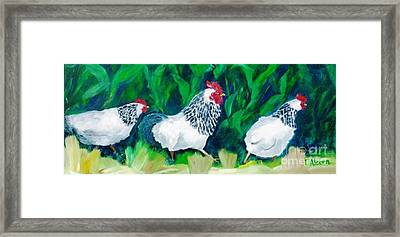 This Way Girls - Original Sold Framed Print
