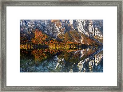 Framed Print featuring the photograph This Way by Graham Hawcroft pixsellpix