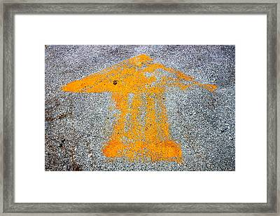 This Way To Oblivion Industrial Decay Series No 004 Framed Print by Design Turnpike