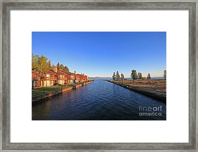 This Way To Paradise Framed Print