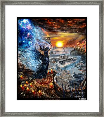 This Will All Come To An End Framed Print