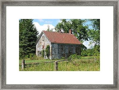This Will Be Our Last Lesson Today Framed Print by Richard Stanford