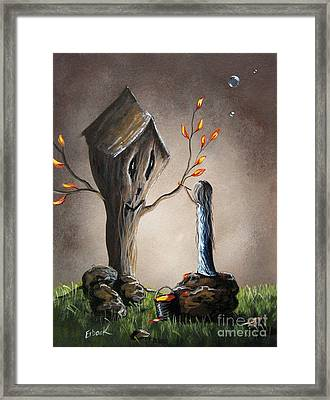 This Will Make It Better By Shawna Erback Framed Print by Shawna Erback