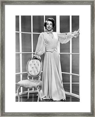 This Woman Is Dangerous, Joan Crawford Framed Print by Everett