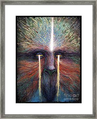 This World Weeps For A Spiritual Awakening Framed Print
