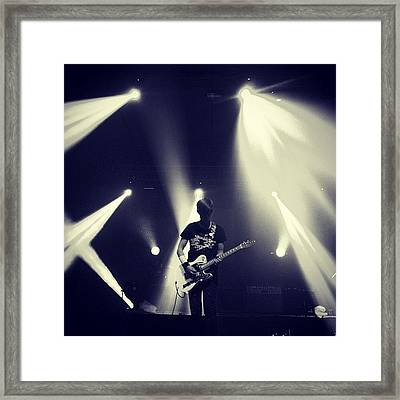 @thisisblocparty  #blocparty #concert Framed Print