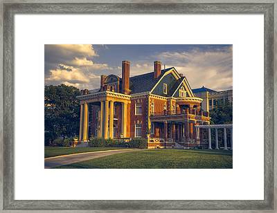 Thistle Hill Framed Print