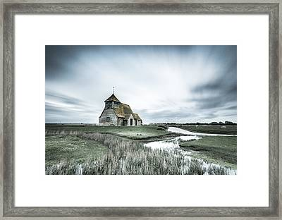 Thomas A Becket Church - Fairfield Framed Print by Ian Hufton