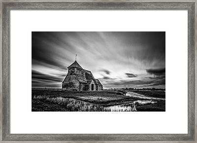 Thomas A Becket Church Framed Print by Ian Hufton