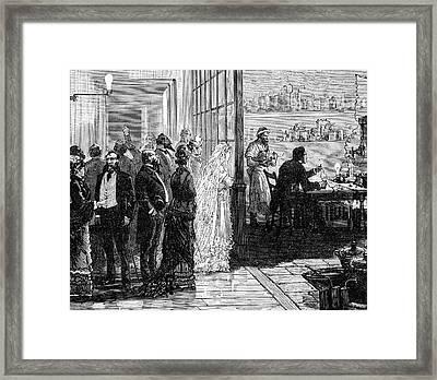 Thomas Alva Edison Framed Print by Universal History Archive/uig