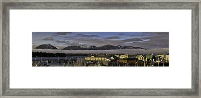 Thomas Basin Alaska Framed Print