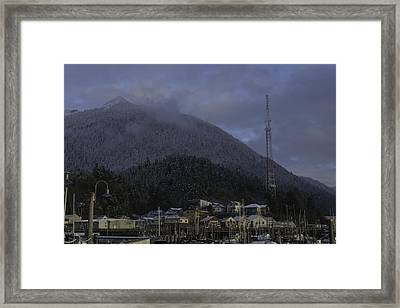 Framed Print featuring the photograph Thomas Basin by Timothy Latta