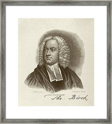 Thomas Birch Framed Print by Middle Temple Library