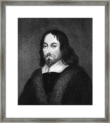 Thomas Browne Framed Print