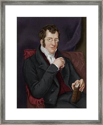 Thomas Buxton Framed Print by Maria Platt-evans