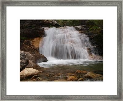Thomas Canyon Waterfall Framed Print by Jenessa Rahn