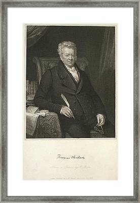 Thomas Clarkson Framed Print by British Library