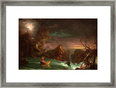 Thomas Cole American, 1801 - 1848, The Voyage Of Life Framed Print