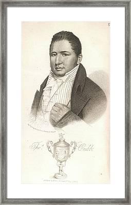 Thomas Cribb Framed Print by British Library