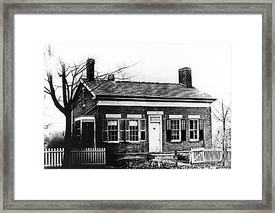 Thomas Edison Birthplace Framed Print