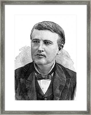 Thomas Edison Framed Print
