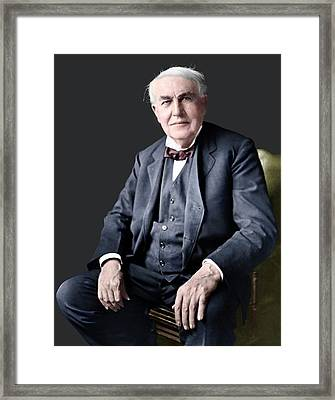 Thomas Edison Framed Print by ***depends On Pic***