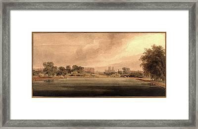 Thomas Girtin, British 1775-1802 Framed Print by Litz Collection