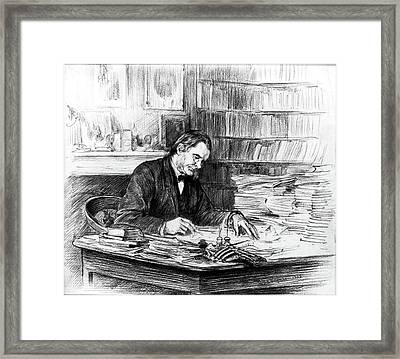 Thomas H Framed Print by Granger