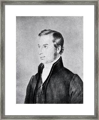 Thomas Hodgkin Framed Print by National Library Of Medicine