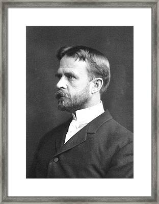 Thomas Hunt Morgan Framed Print