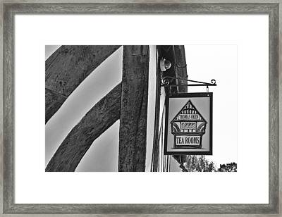 Thomas Oken Tea Rooms Framed Print