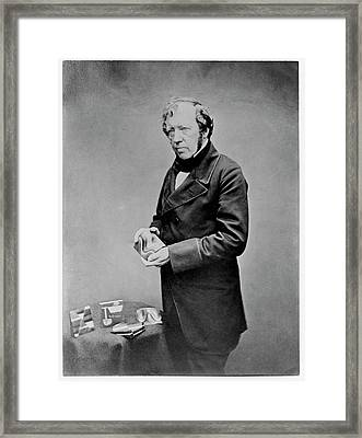 Thomas Sopwith Geological Models Framed Print