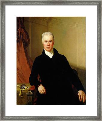 Thomas Sully American, 1783 - 1872, Charles Carnan Ridgely Framed Print