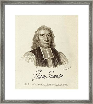 Thomas Tanner Framed Print by Middle Temple Library