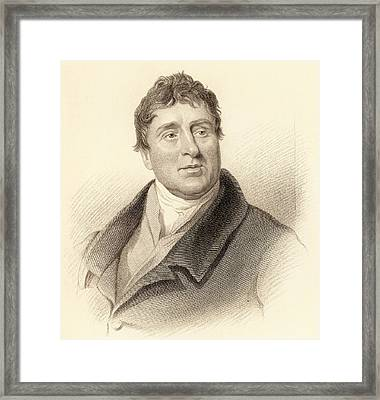 Thomas Telford Framed Print by Universal History Archive/uig
