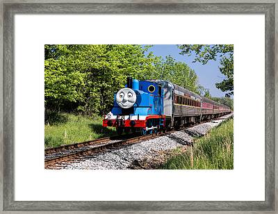 Thomas Visits The Cvnp Framed Print