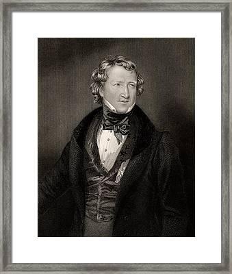 Thomas Wakley Framed Print by Universal History Archive/uig