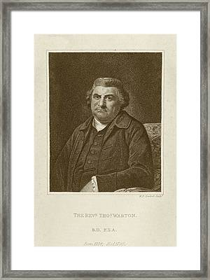 Thomas Warton Framed Print