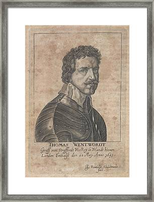 Thomas Wentworth Framed Print by British Library